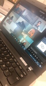 online undervisning og team møde